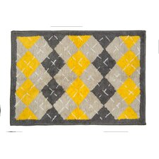 <strong>Pam Grace Creations</strong> Argyle Giraffe Kids Rug