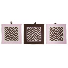 Zara Zebra Wall Hangings