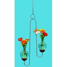 <strong>The Brass Butterfly</strong> Hanging Double Plant Rooter