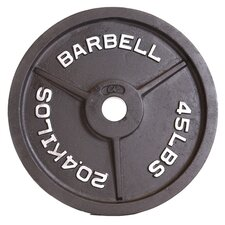 "<strong>Cap Barbell</strong> 2"" Black Plate"