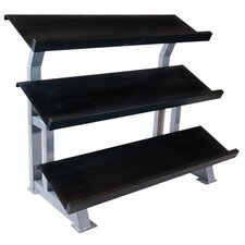 "<strong>Cap Barbell</strong> 3 Tier ""Stadium"" Rack"