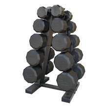 <strong>Cap Barbell</strong> 150 lbs Eco Dumbbell Set with Rack