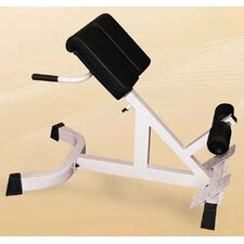 <strong>Yukon Fitness</strong> Extension Home Exercise Incline Hyperextension Bench