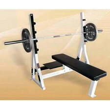 Commercial Flat Olympic Bench