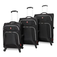 Monte Leone 3 Piece Luggage Set