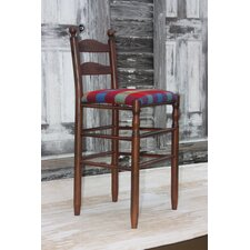 "Woolrich Blanket Furniture Ladderback 30"" Bar Stool"