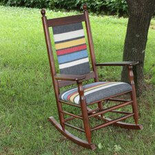 <strong>Dixie Seating Company</strong> Woolrich Blanket Furniture Rocking Chair