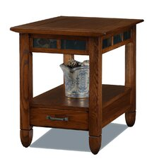 Slatestone End Table