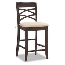 "Crossback 24"" Bar Stool (Set of 2)"