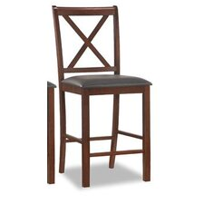 "Crossback 30"" Bar Stool (Set of 2)"