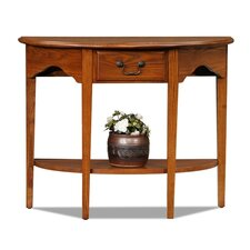 <strong>Leick Furniture</strong> Favorite Finds Demilune Console Table