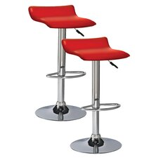 Favorite Finds Adjustable Swivel Bar Stool (Set of 2)