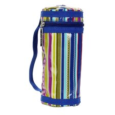 Bottle Sleeve in Cobalt Stripes