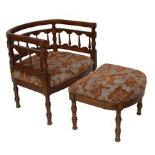 Savannah Fabric Arm Chair