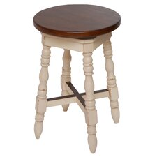 "<strong>Carolina Accents</strong> Avondale 24"" Backless Swivel Counter Stool"