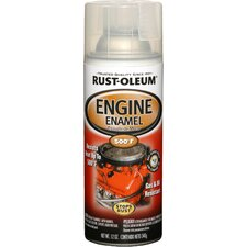 11 Oz Clear Engine Enamel Spray Paint 248944