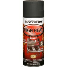 <strong>RustoleumAutomotive</strong> 12 Oz Flat Black High Heat Automotive Spray Paint