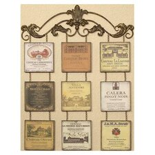 "Vineyard Plaque Wall Art - 38.5"" x 30"""