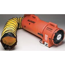 "8"" Plastic COM-PAX-IAL Blower With Canister and 25' Ducting"