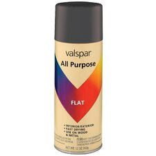 12 Oz Black Flat All Purpose Spray Paint