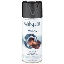<strong>Valspar</strong> Black Metal Spray Paint