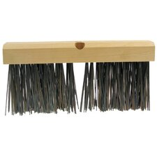 "Wire Brooms - jmb18 14""x2-3/8""x5"" flatwire broom 4x16 trim"