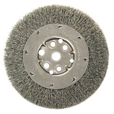 "Narrow Face Crimped Wire Wheels-DM Series - dm6-.014 6""dia narrow face crimped wir"