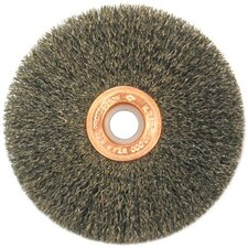 "Small Diameter Wire Wheels-SS Series-Single Sections - 2-1/2""dia. single section crimped wire wheel"