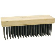 Scratch Brushes-Block Type - hr62 block scratch brushflat face 6x19 r
