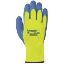 PowerFlex® T Hi Viz Yellow™ Gloves - 206419 8 powerflex natural rubber