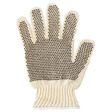 MultiKnit™ Dotted Lightweight Gloves - 222174 9 poly/cotton string knit dotted medweght