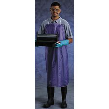 "X 44"" Blue CPP™ 8 mil Vinyl Chemical Protection Apron With Sewn Edge"