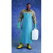 "X 50"" Green CPP™ 20 Mil PVC Heavy Duty Apron With Stomach Patch"