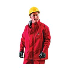 Red Sawyer-Tower CPC™ Polyester Trilaminate Gore® Chemical Protection Jacket