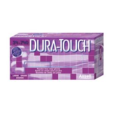 <strong>Ansell</strong> Clear Dura-Touch™ 5 mil Economical PVC Powder-Free Disposable Gloves With Smooth Finish (100 Each Per Box)