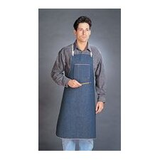 "X 36"" CPP™ HyFlex® Denim Shop Apron With Two Compartment Bib Pocket"