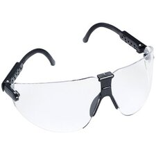 Lexa™ Safety Eyewear - lexa metallic slate temple safety spectacle m