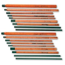 """20-043-003 1/4"""" X 12"""" AC Pointed Copperclad Air Carbon Arc Gouging Electrode (50 Per Box)"""
