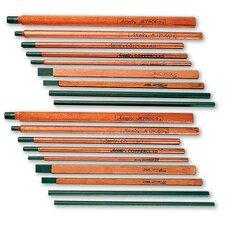 """21-033-003 3/16"""" X 12"""" DC Plain Air Carbon Arc Gouging Electrode (50 Per Box)"""