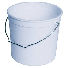2.5 Quart Plastic Pail With Handle 61080-200317