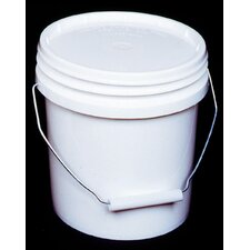 1 Gallon White Industrial Pail 10128-200844