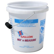 5 Gallon Mix'n Measure Pail With Foam Grip Handle 56511-350001