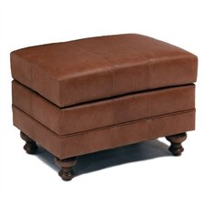 Cartwright Leather Ottoman