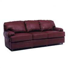 Dakota Left Leather Sofa