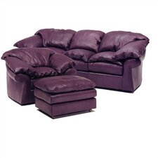 Meridian Leather Sofa and Chair Set