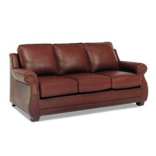 Amber Leather Sofa