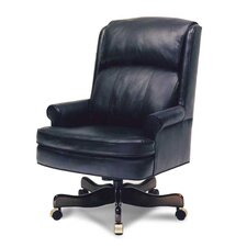 Man's High-Back Leather Executive Chair