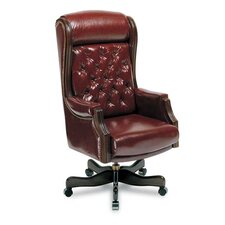 High-Back Leather Swivel / Tilt Executive Chair