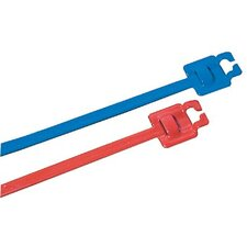 "1/4""X9"" Nylon Coated Cable Tie (Set of 100)"