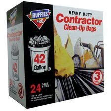 42 Gal Contractor Clean UP Bag 24 Count